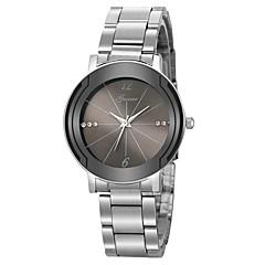 preiswerte Herrenuhren-Herrn Kleideruhr Chinesisch Chronograph / Kreativ / Großes Ziffernblatt Edelstahl Band Luxus Silber
