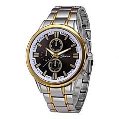 preiswerte Herrenuhren-Herrn Armbanduhr Chinesisch Chronograph / Großes Ziffernblatt Edelstahl Band Luxus / Modisch Silber