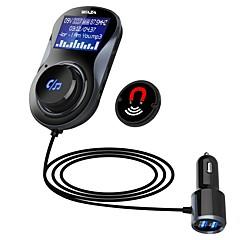 Недорогие Bluetooth гарнитуры для авто-waza bt01 car bluetooth 4.1 fm передатчик быстрый заряд 3.0