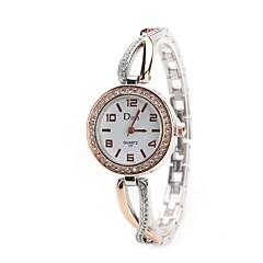 お買い得  レディース腕時計-L.WEST 女性用 リストウォッチ 中国 カジュアルウォッチ 合金 バンド カジュアル / ファッション シルバー / ゴールド / ローズゴールド