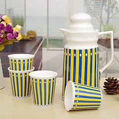 abordables Accesorios para té-Porcelana Resistente al calor 5pcs Colador de té