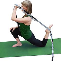 billiga Träningstillbehör-Yoga Strap Med 1 pcs Cotton Stretch, Hållbar, Justerbart D-ringspänne Sjukgymnastik, Stretching, För större flexibilitet För Yoga / Pilates / Motion & Fitness
