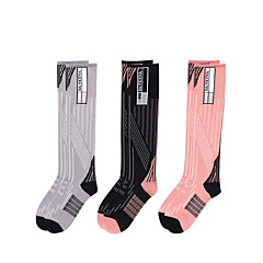 abordables Calcetines-Calcetines de Running / Calcetines hasta la Rodilla Mujer Eslático - 1 Par para Fútbal / Bicicleta / Running