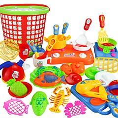 abordables Juegos de imaginación-Juegos de Rol Inicio herramienta de la cocina / Interacción padre-hijo Niño / Preescolar Regalo 35pcs