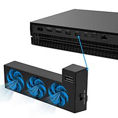 abordables Accesorios para Xbox One-DOBE Con Cable Ventiladores Para Xbox Uno ,  Portátil Ventiladores PP+ABS 1 pcs unidad