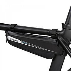abordables Bolsas para Bicicleta-0.6 L Bolsa para Cuadro de Bici / Bolsa de marco triangular Portátil, Duradero Bolsa para Bicicleta Tejido Bolsa para Bicicleta Bolsa de Ciclismo Ciclismo / Bicicleta / Cremallera a prueba de agua
