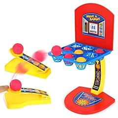 abordables Balones y accesorios-Juguetes de baloncesto Deportes Mini Familia Interacción padre-hijo Carcasa de plástico Niños Regalo 1pcs