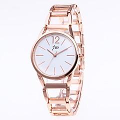 preiswerte Damenuhren-Damen Armband-Uhr Quartz 30 m Chronograph Edelstahl Band Analog Modisch Gold - Weiß Schwarz Rosa Ein Jahr Batterielebensdauer / SSUO LR626
