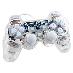 preiswerte Zubehör für Computerspiele-GM.04 Mit Kabel Game-Controller Für PC . Vibration Game-Controller ABS 1 pcs Einheit