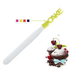 お買い得  ベイキング用品&ガジェット-ベークツール ステンレス 創造的 ケーキのための ベーキング&ペストリーへら 1個