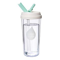 abordables Pajitas y mezcladores-Vasos PP+ABS Pajitas Portátil / El calor que cambian de color sensible / Termoaislante 1pcs
