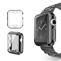 abordables Fundas para Apple Watch-Funda Para Apple Apple Watch Series 3 / 2 / 1 Silicona Apple