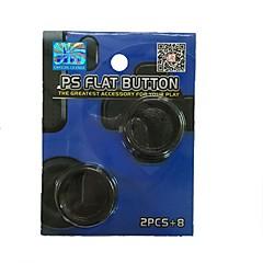 preiswerte Zubehör für Videospiele-Spiel-Controller Thumb Stick Griffe Für PS4 / PS4 Schlank . Spiel-Controller Thumb Stick Griffe PP+ABS 1 pcs Einheit