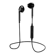 お買い得  ヘッドセット、ヘッドホン-S6 Bluetoothヘッドセット Bluetooth4.1 ヘッドホン ABS + PC 携帯電話 イヤホン マイク付き / ボリュームコントロール付き ヘッドセット