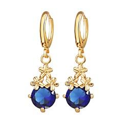 preiswerte Ohrringe-Damen Tropfen-Ohrringe - Blume Romantisch, Modisch Silber / Golden Für Alltag Verabredung