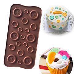 お買い得  ベイキング用品&ガジェット-ベークツール シリコーン DIY Cupcake / キャンディのための / 出芽 ケーキ型 / クッキーカッター / デザートツール 1個