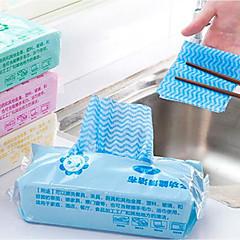 abordables Limpieza para la Cocina-Cocina Limpiando suministros Telas no tejidas Cepillo y Trapo de Limpieza Anti-Polvo / No pegajoso 1pc