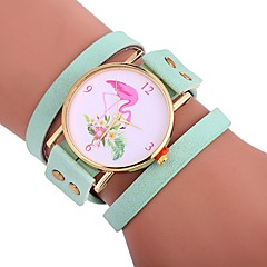 preiswerte Damenuhren-Xu™ Armband-Uhr Armbanduhr Sender Kreativ, Armbanduhren für den Alltag, bezaubernd Braun / Rot / Grün / Ein Jahr / Großes Ziffernblatt / Ein Jahr