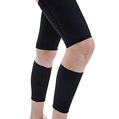 abordables Protecciones para Deporte-Mangas de Pierna para Running / Fitness Unisex Equipamiento de Seguridad Deportes Neopreno 1 Par Negro