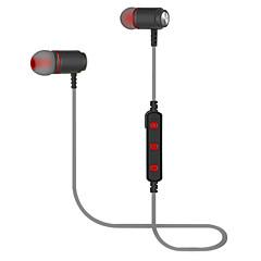 preiswerte Headsets und Kopfhörer-Bluetooth-Kopfhörer in Ohr-Wireless-Ohrhörer 4,2 magnetische Schweiß-Stereo-Bluetooth-Kopfhörer für Sport mit Mikrofon