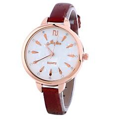 preiswerte Damenuhren-Xu™ Damen Kleideruhr / Armbanduhr Chinesisch Kreativ / Armbanduhren für den Alltag / lieblich PU Band Modisch / Minimalistisch Schwarz / Blau / Rot