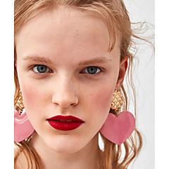 preiswerte Ohrringe-Damen Tropfen-Ohrringe - Herz Europäisch, Modisch, Elegant Leicht Grün / Königsblau / Dunkelgrün Für Alltag / Schultaschen