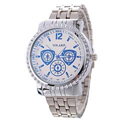 preiswerte Damenuhren-Xu™ Damen Armbanduhr Chinesisch Kreativ / Armbanduhren für den Alltag / Großes Ziffernblatt Legierung Band Luxus / Modisch Silber