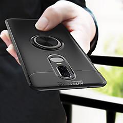 お買い得  その他のケース-ケース 用途 OnePlus OnePlus 6 バンカーリング バックカバー ソリッド ソフト TPU のために OnePlus 6