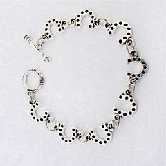 preiswerte Armbänder-Damen Skulptur Ketten- & Glieder-Armbänder - Modisch Armbänder Silber Für Schultaschen / Ausgehen