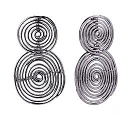 preiswerte Ohrringe-Damen Münze Tropfen-Ohrringe - Einfach, Einzigartiges Design Gold / Schwarz Für Geschenk / Alltag
