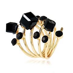 preiswerte Ringe-Damen Kubikzirkonia Knöchel-Ring - Kupfer Luxus, Modisch, Elegant 9 Regenbogen / Rot / Blau Für Party / Geschenk