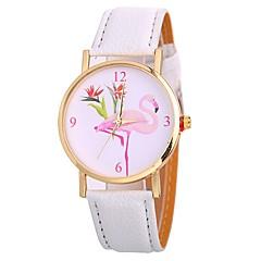 preiswerte Damenuhren-Xu™ Damen Armbanduhr Chinesisch Kreativ / lieblich / Großes Ziffernblatt PU Band Modisch / Minimalistisch Schwarz / Weiß / Blau