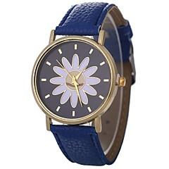 お買い得  レディース腕時計-Xu™ 女性用 リストウォッチ クォーツ ブラック / 白 / ブルー クリエイティブ カジュアルウォッチ 愛らしいです ハンズ レディース 花型 ファッション - グリーン ブルー ピンク 1年間 電池寿命