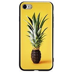 Недорогие Кейсы для iPhone 7-Кейс для Назначение Apple iPhone 8 / iPhone 7 Ультратонкий Кейс на заднюю панель Фрукты Мягкий ТПУ для iPhone 8 Pluss / iPhone 8 / iPhone 7 Plus