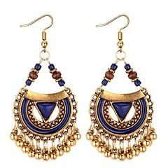 preiswerte Ohrringe-Damen Synthetischer Tansanit Tropfen-Ohrringe - Tropfen Stilvoll Schwarz / Rot / Blau Für Zeremonie / Geburtstag