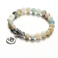 preiswerte Armbänder-Damen 3D Strang-Armbänder Vintage Armbänder Yoga-Armband - Blume Böhmische, Modisch Armbänder Weiß Für Party Festtage