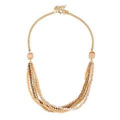 preiswerte Halsketten-Damen Mehrschichtig Perlenkette  -  Herz Elegant Gold 49 cm Modische Halsketten 1pc Für Party, Festtage