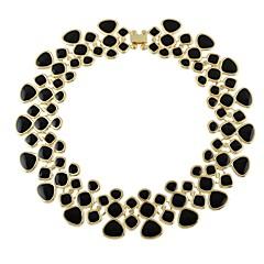 preiswerte Halsketten-Damen Dicke Kette Halsketten - Tropfen Einfach, Modisch Purpur, Blau, Leicht Grün 43 cm Modische Halsketten 1pc Für Party / Abend, Schultaschen