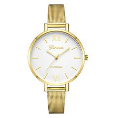 preiswerte Damenuhren-Geneva Damen Kleideruhr / Armbanduhr Chinesisch Neues Design / Armbanduhren für den Alltag / Cool Legierung Band Freizeit / Modisch Schwarz / Gold / Rotgold / Ein Jahr