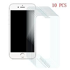 Недорогие Защитные пленки для iPhone 6s / 6-Защитная плёнка для экрана для Apple iPhone 6s / iPhone 6 Закаленное стекло 10 ед. Защитная пленка для экрана Уровень защиты 9H / Защита от царапин