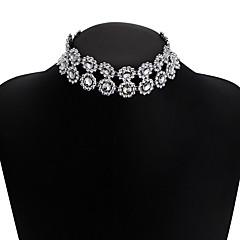 preiswerte Halsketten-Damen Mehrschichtig Halsketten - Europäisch, Modisch Weiß 30 cm Modische Halsketten Schmuck 1pc Für Normal