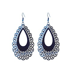 preiswerte Ohrringe-Damen Tropfen-Ohrringe - Edelstahl nette Art, Viktorianisch, Mehrfarbig Regenbogen Für Zeremonie / Valentinstag