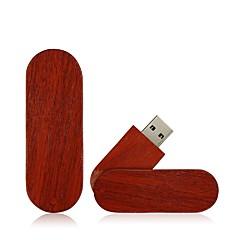 お買い得  USBメモリー-Ants 2GB USBフラッシュドライブ USBディスク USB 2.0 ウッド / 丈 回転