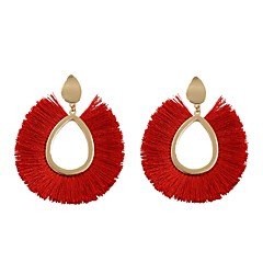 preiswerte Ohrringe-Damen Quaste Tropfen-Ohrringe - Quaste Grün / Rosa / Hellblau Für Geburtstag / Alltag