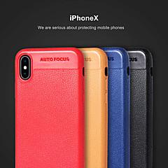 Недорогие Кейсы для iPhone 7 Plus-Кейс для Назначение Apple iPhone X / iPhone 8 Ультратонкий Кейс на заднюю панель Однотонный Мягкий ТПУ для iPhone X / iPhone 8 Pluss / iPhone 8