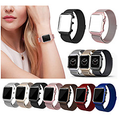 abordables Accesorios para Apple Watch-Ver Banda para Apple Watch Series 3 / 2 / 1 Apple Correa Milanesa Acero Inoxidable Correa de Muñeca
