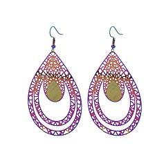 preiswerte Ohrringe-Damen Tropfen-Ohrringe - Edelstahl nette Art, Mehrfarbig, Renaissance Regenbogen Für Party / Abend / Formal