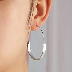 abordables Bijoux pour Femme-Femme Creux Boucles d'oreille gitane - Perle d'or Goutte Artistique, simple, Géométrique Or / Argent Pour Fête / Soirée Cadeau Soirée