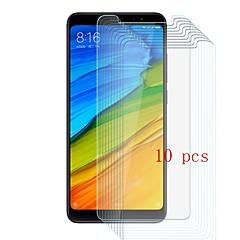 Недорогие Защитные плёнки для экранов Xiaomi-Защитная плёнка для экрана для XIAOMI Xiaomi Redmi Примечание 5 Закаленное стекло 10 ед. Защитная пленка для экрана Уровень защиты 9H / Защита от царапин