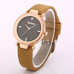 preiswerte Damenuhren-Damen Armbanduhr Chinesisch Armbanduhren für den Alltag Leder Band Modisch Schwarz / Blau / Grün